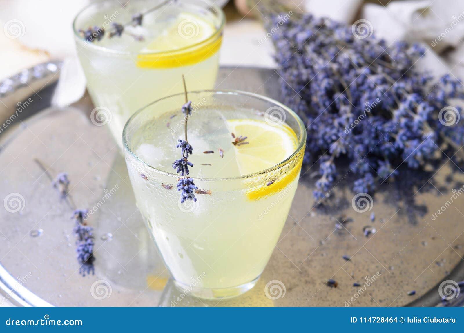 Lavendellemonad, uppfriskande drink