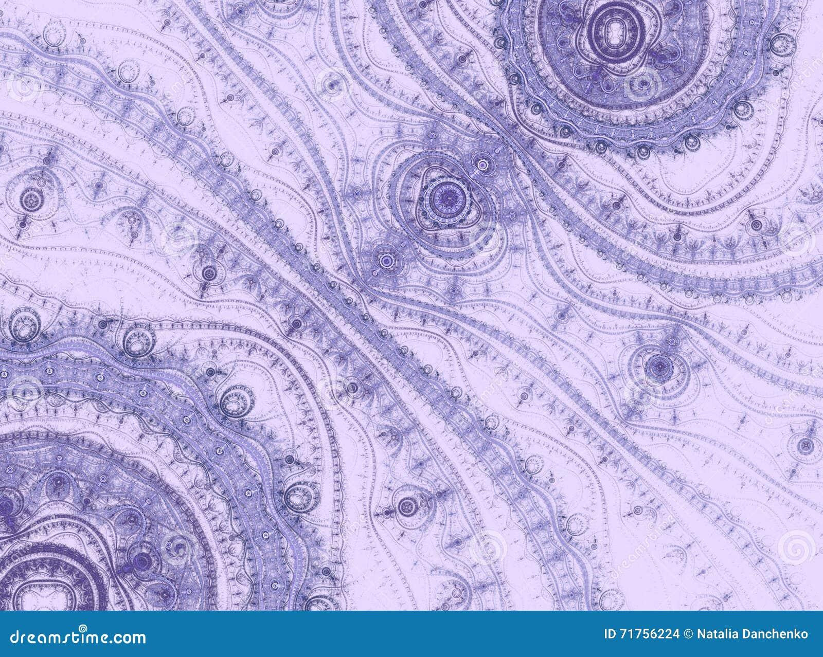 Lavender δαντέλλες Αφηρημένη παραγμένη υπολογιστής εικόνα