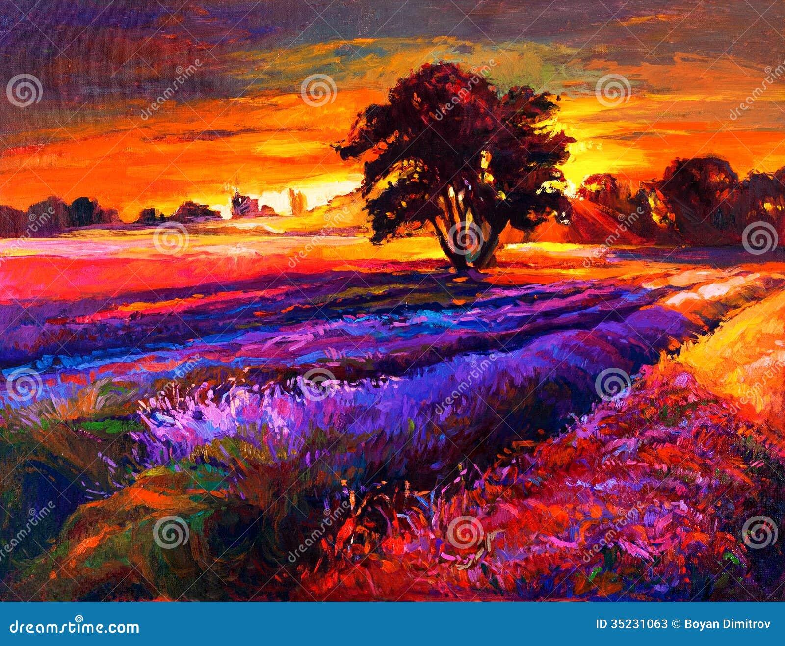 Lavender τομείς