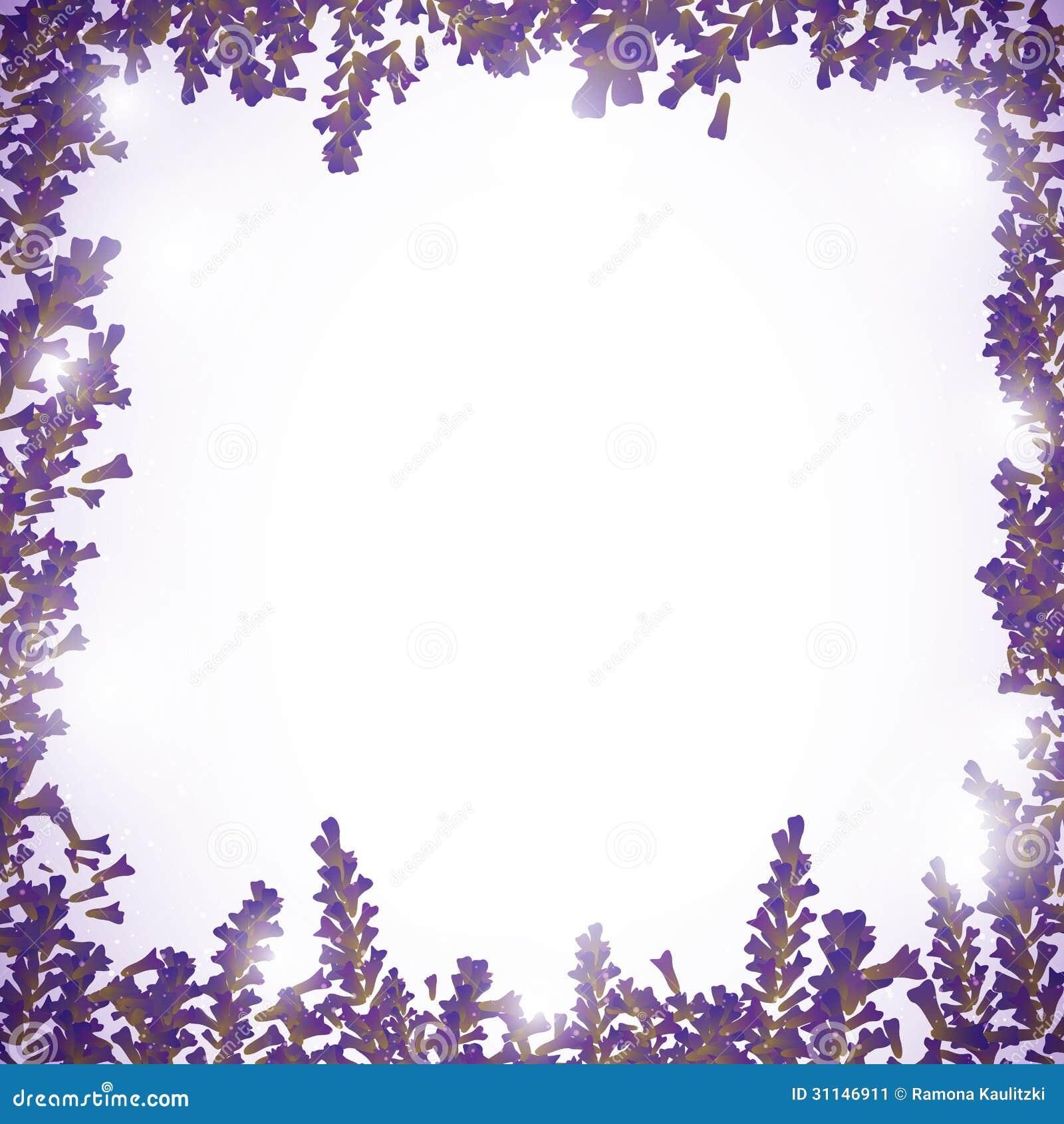Lavender Background Stock Image - Image: 31146911