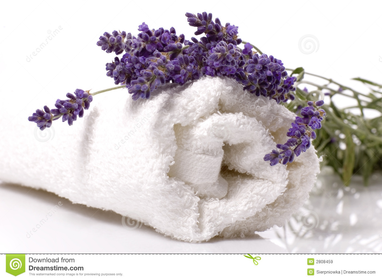 Lavender bath royalty free stock images image 2808459