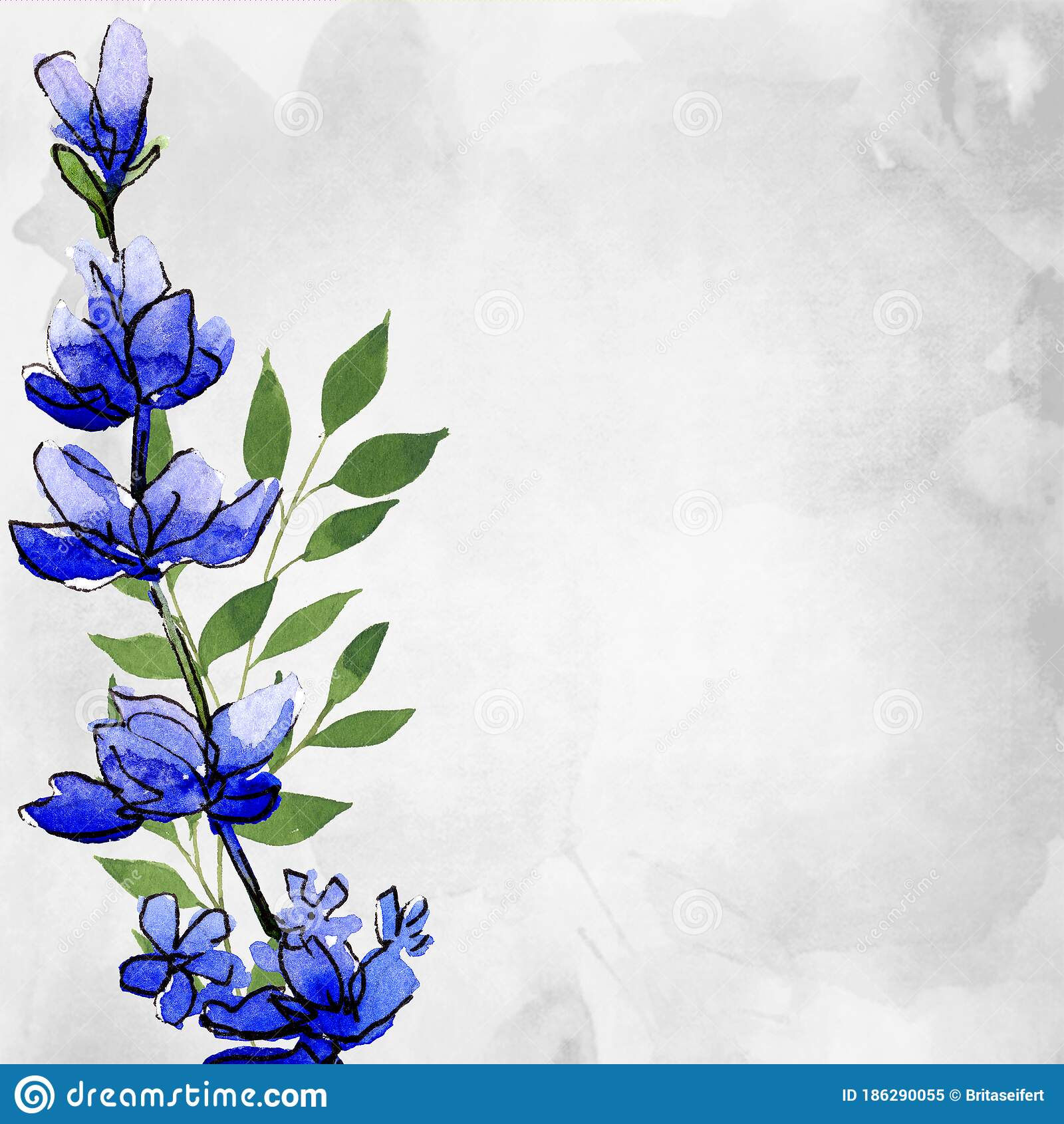 Lavender Flower Twig In Realistic Watercolor Herb Of Lavandula For Bouquet Decoration And Fragrance Floral Illustration Stock Illustration Illustration Of Drawing Aromatherapy 186290055
