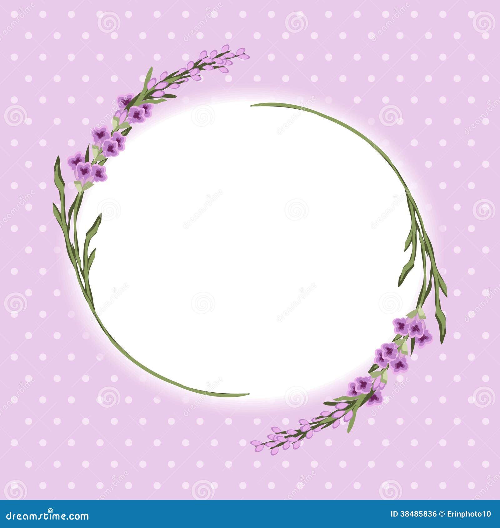 lavender wallpaper border