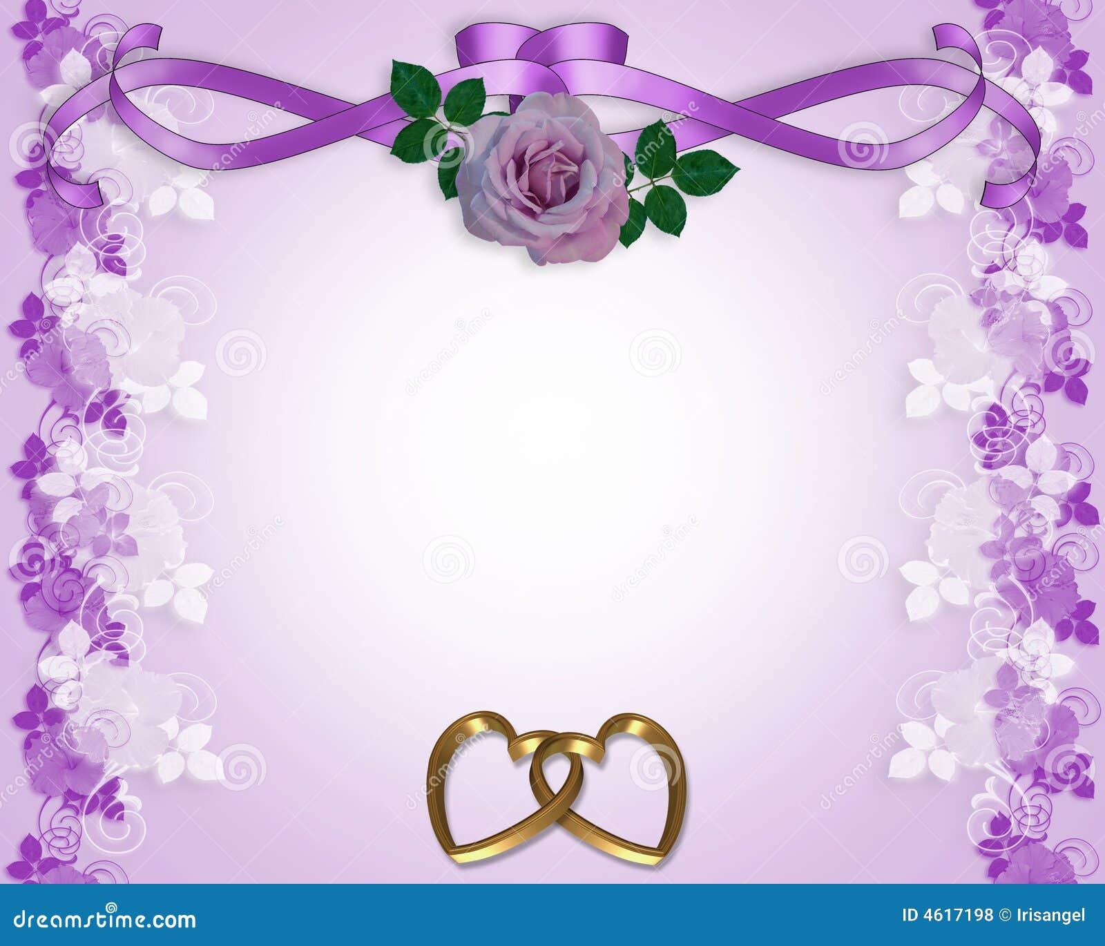 rose wedding invitation background - photo #18