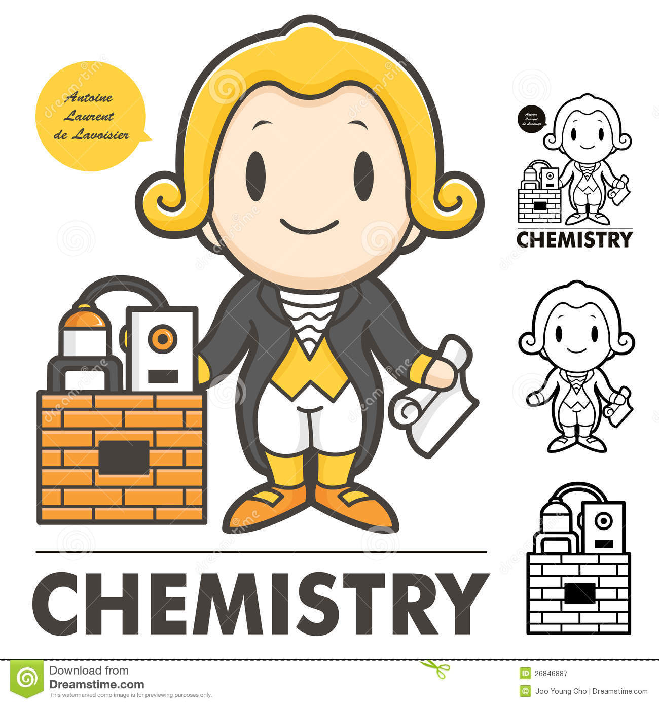 lavoisier the of modern chemistry royalty free