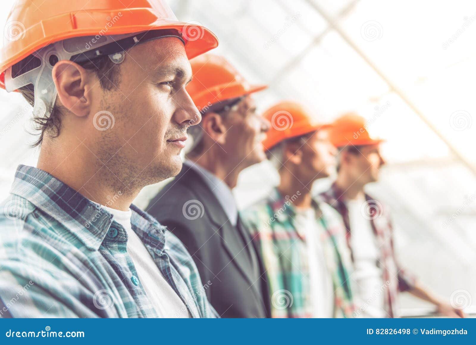 Lavoratori di industria dell edilizia