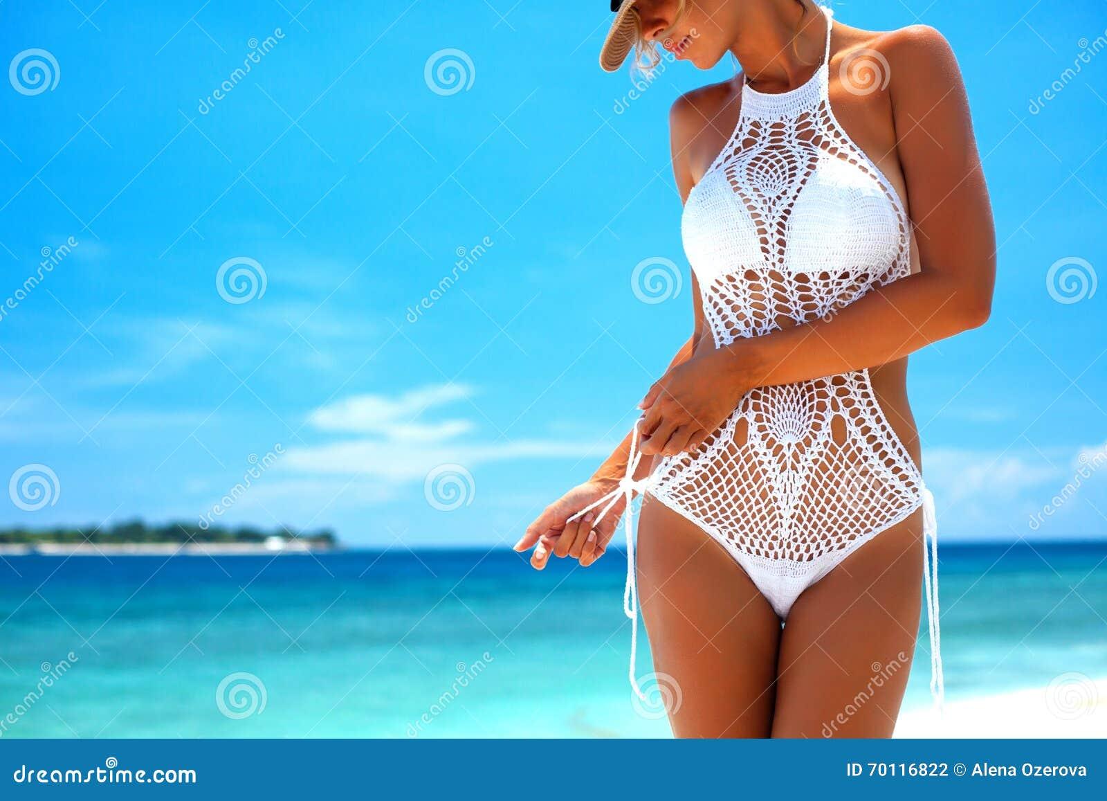 Lavori all uncinetto il bikini