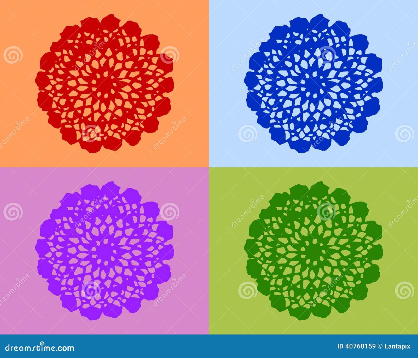 Lavori all 39 uncinetto il lavoro illustrazione vettoriale for Immagini uncinetto