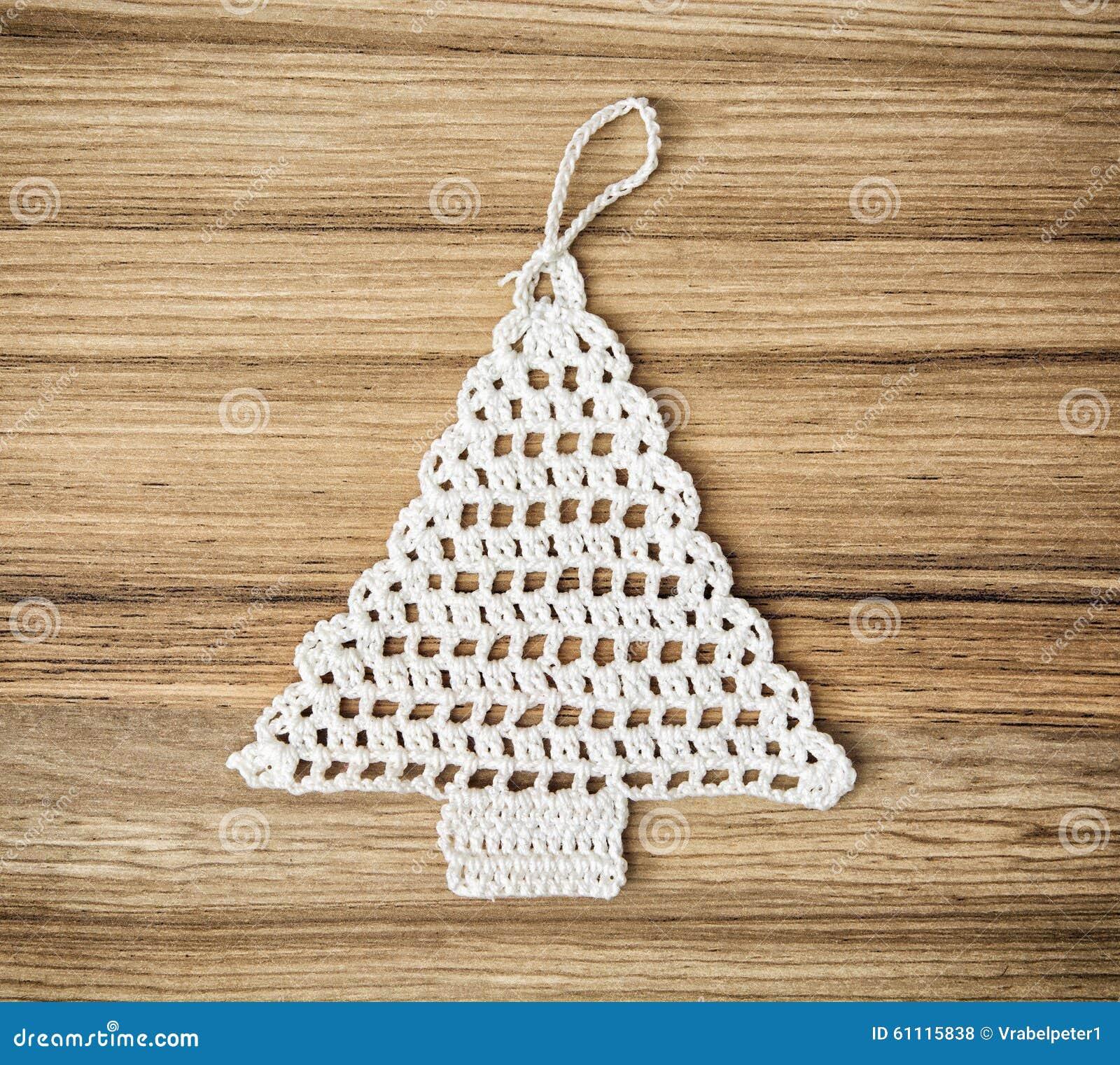 Lavori Alluncinetto Lalbero Di Natale Fotografia Stock Immagine