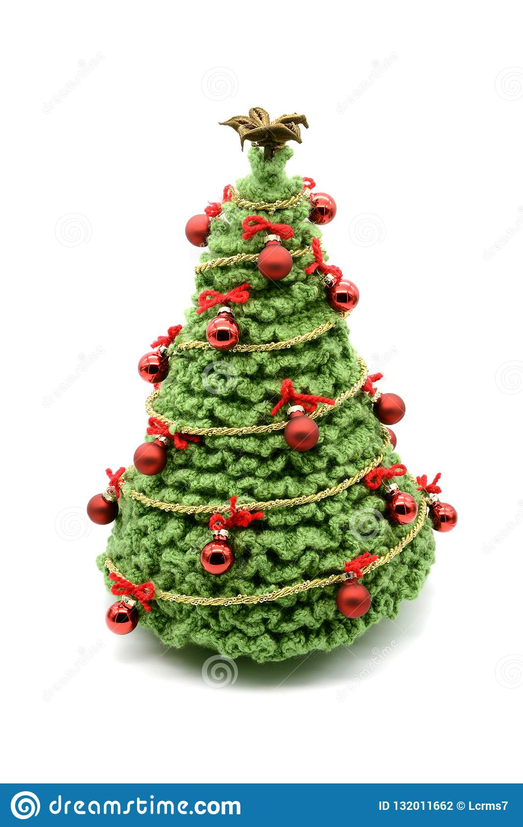 Lavori Alluncinetto Lalbero Di Natale Con Le Palle E Gli Ornamenti