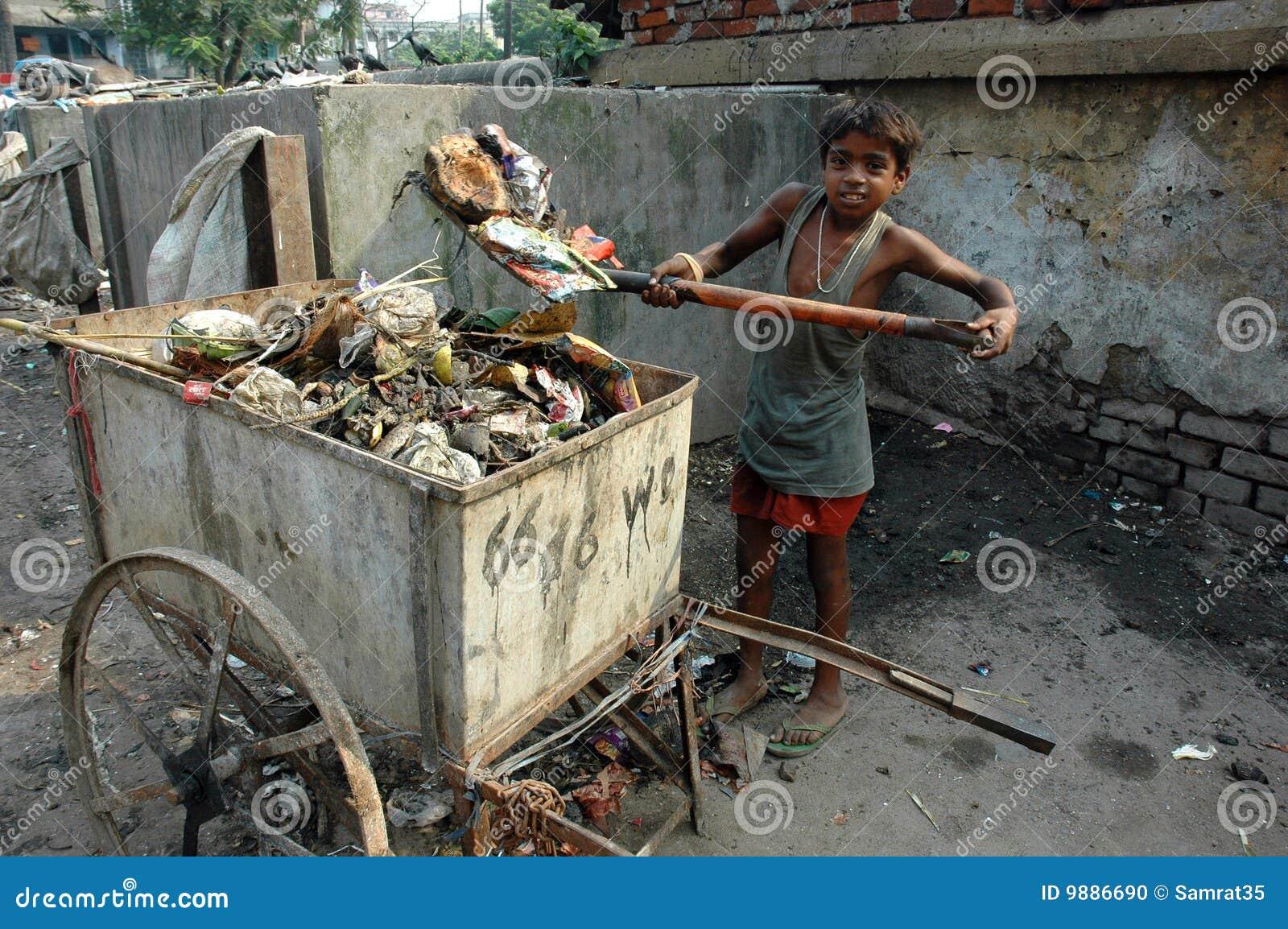 Lavori infantili in India.