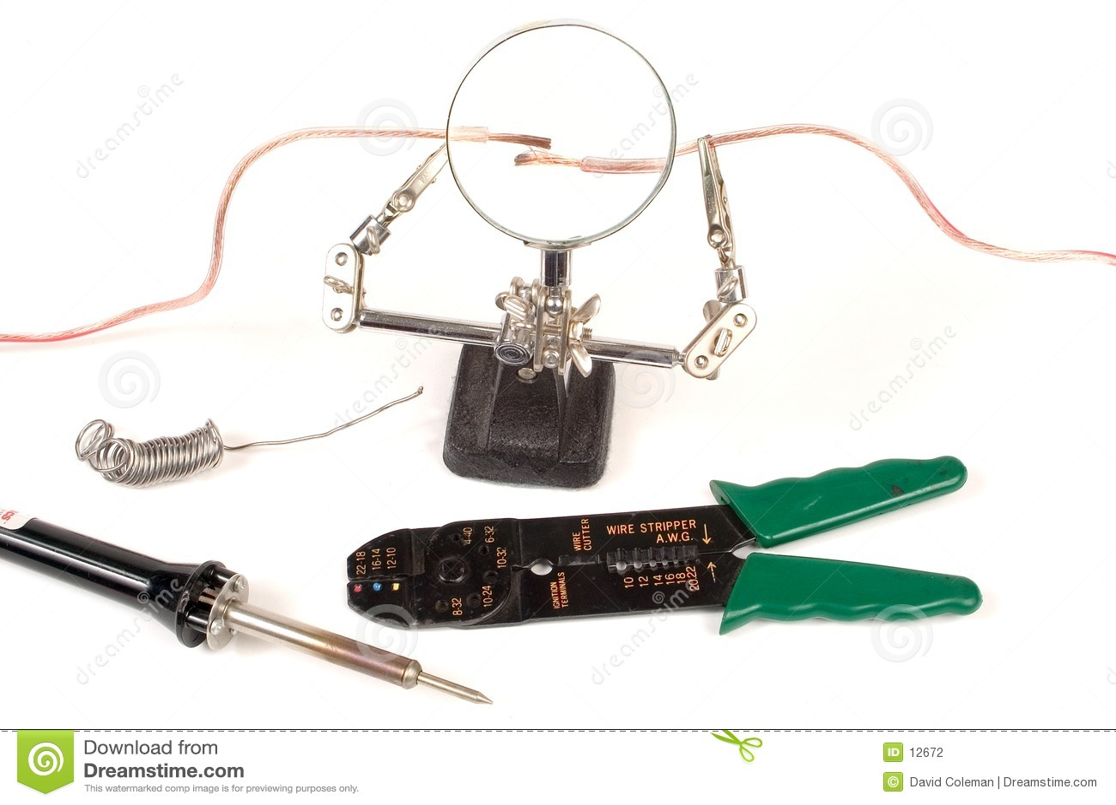 Lavoro in corso elettrico