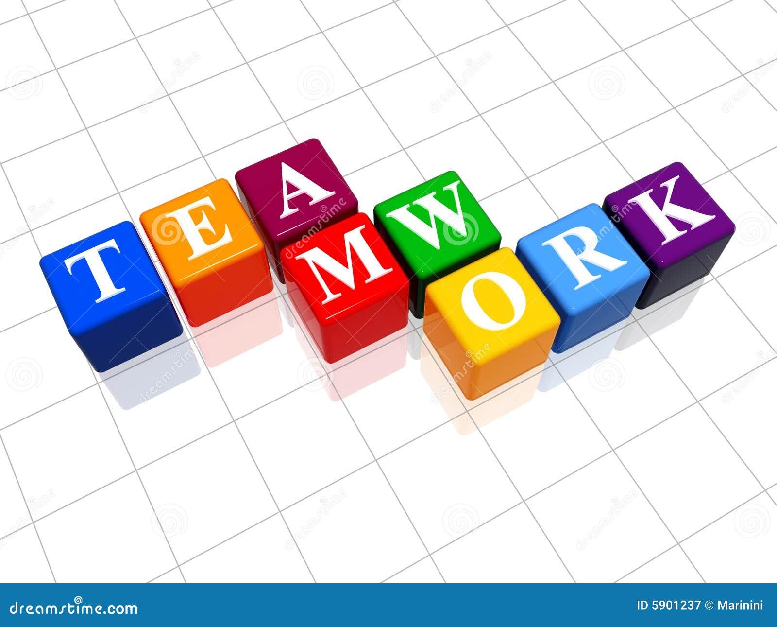 Lavoro di squadra a colori 3