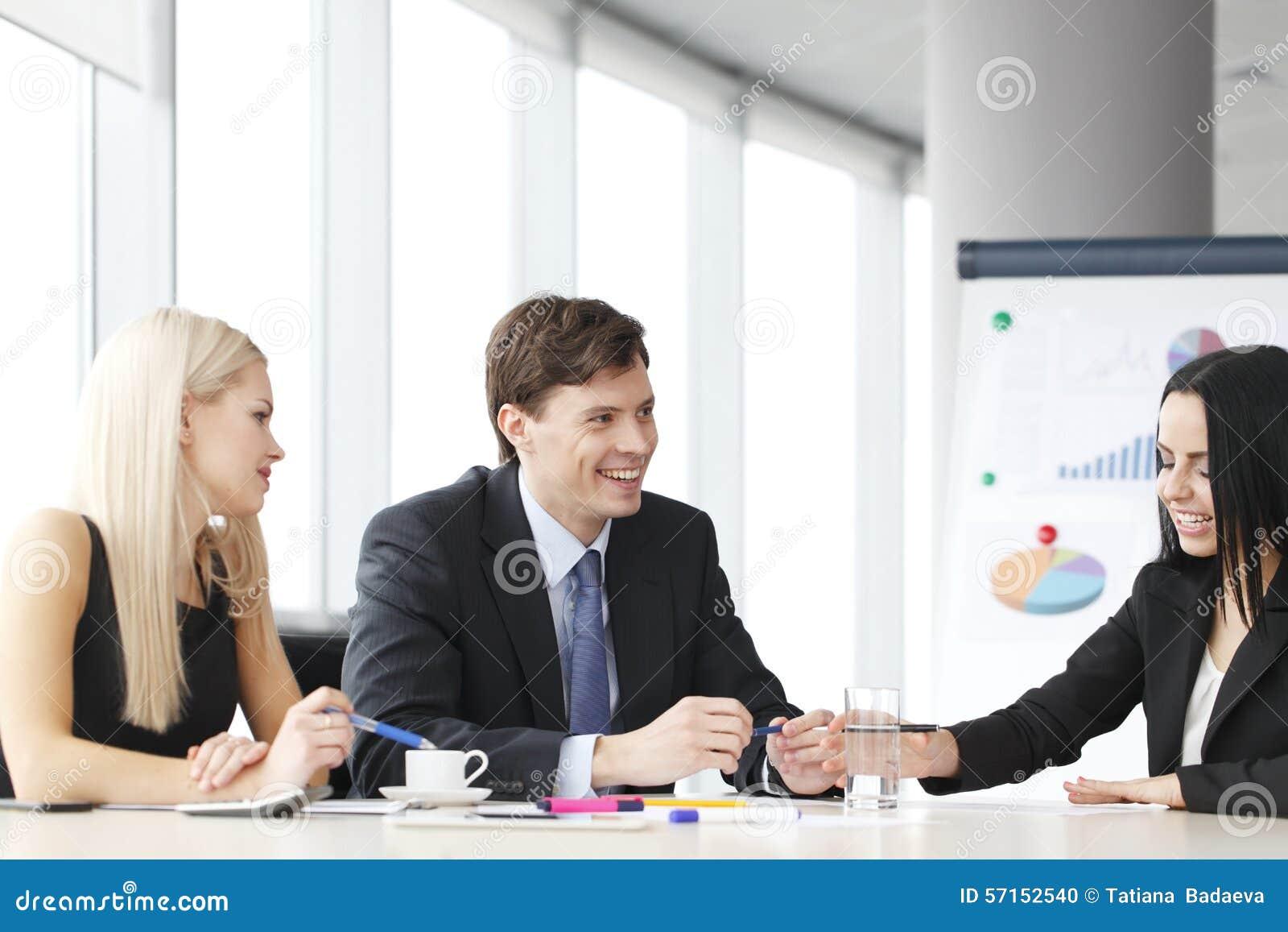 Lavoro di squadra della gente di affari
