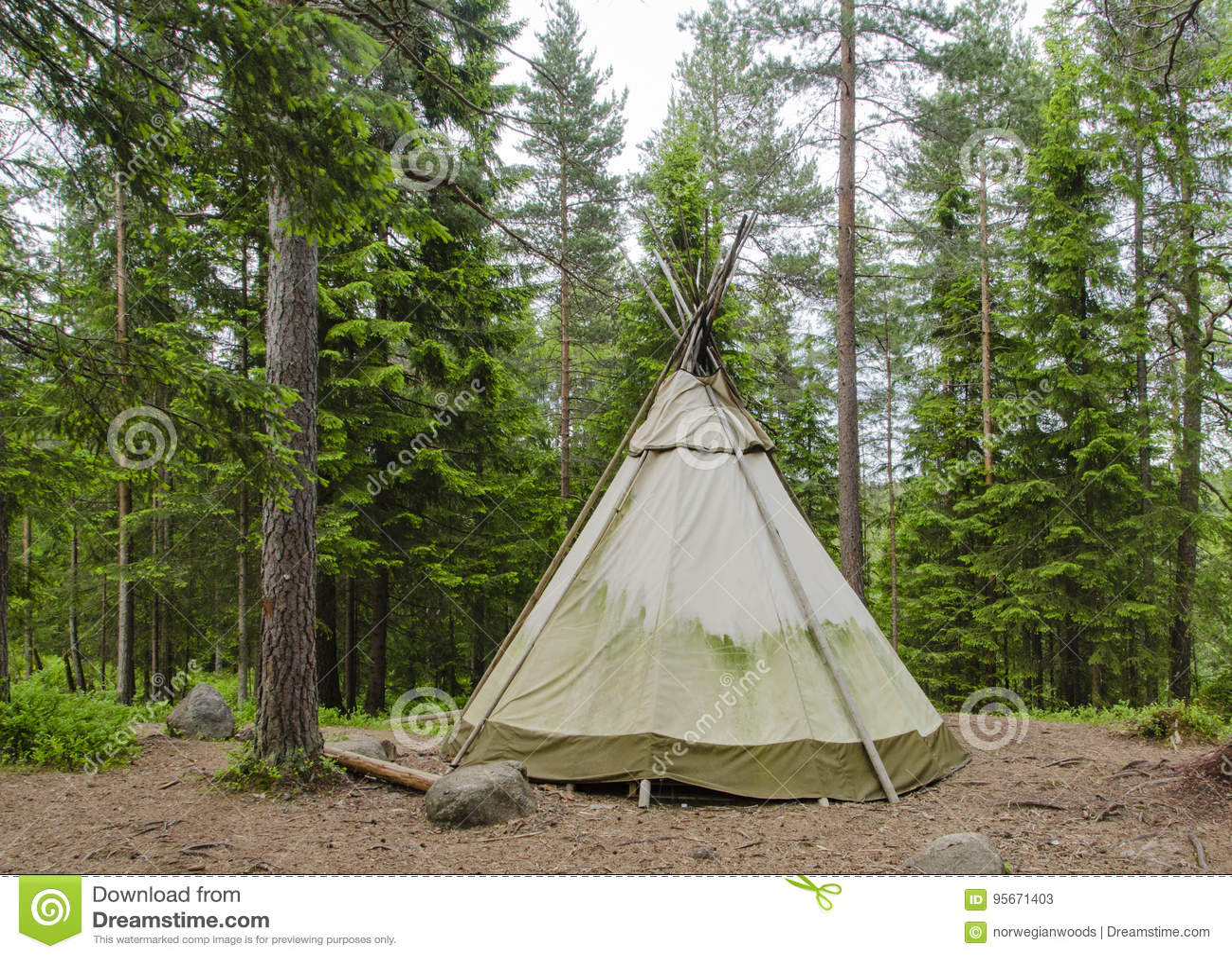 Lavvu帐篷