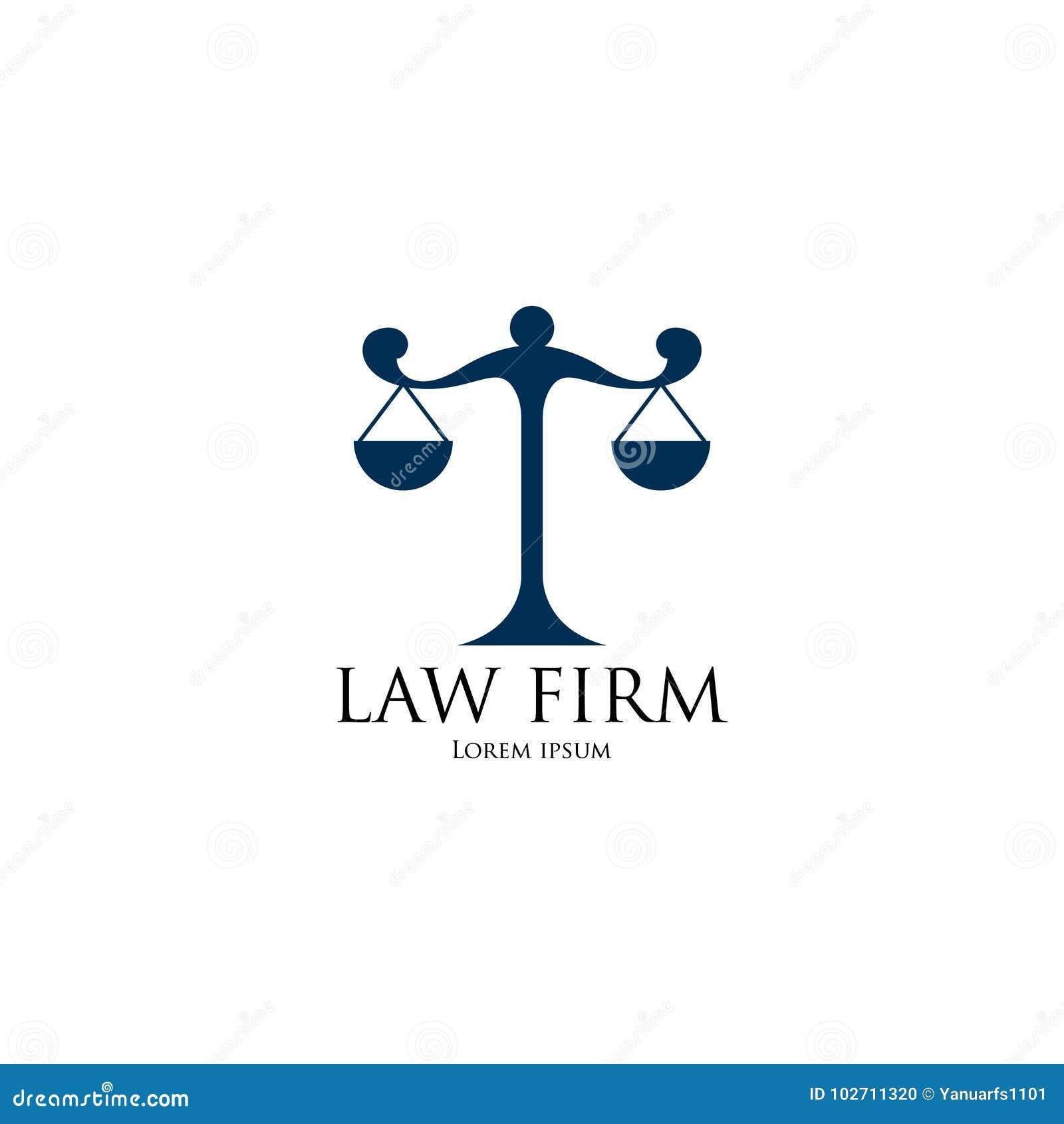 Law Firm Logo art stock vector. Illustration of legal - 102711320