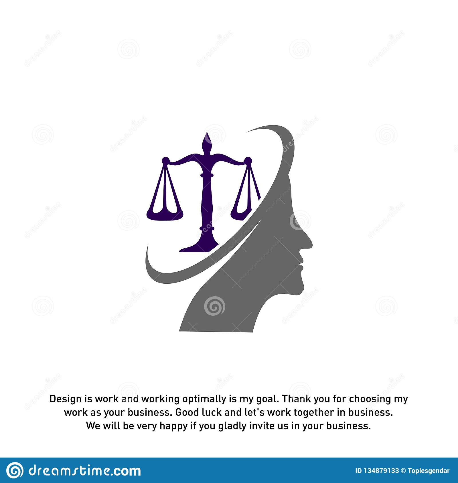 Law Firm With People Logo Design Template  Law Firm Logo