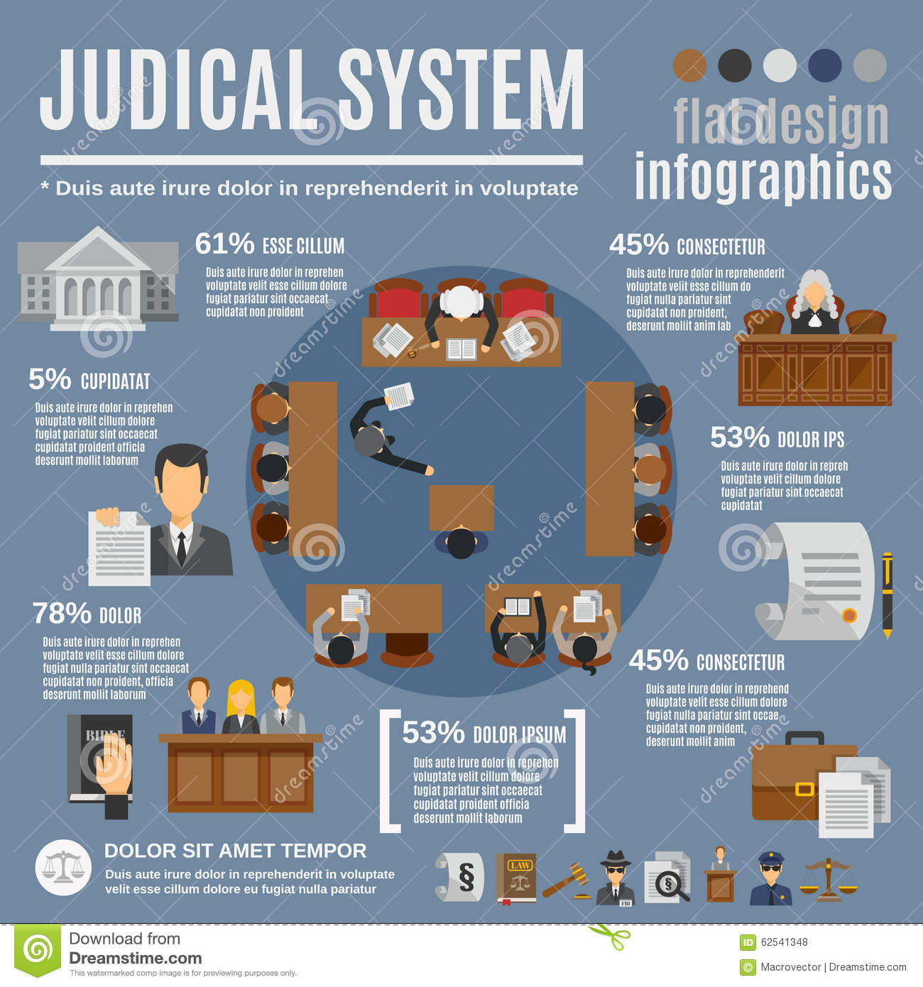 Infographics in law