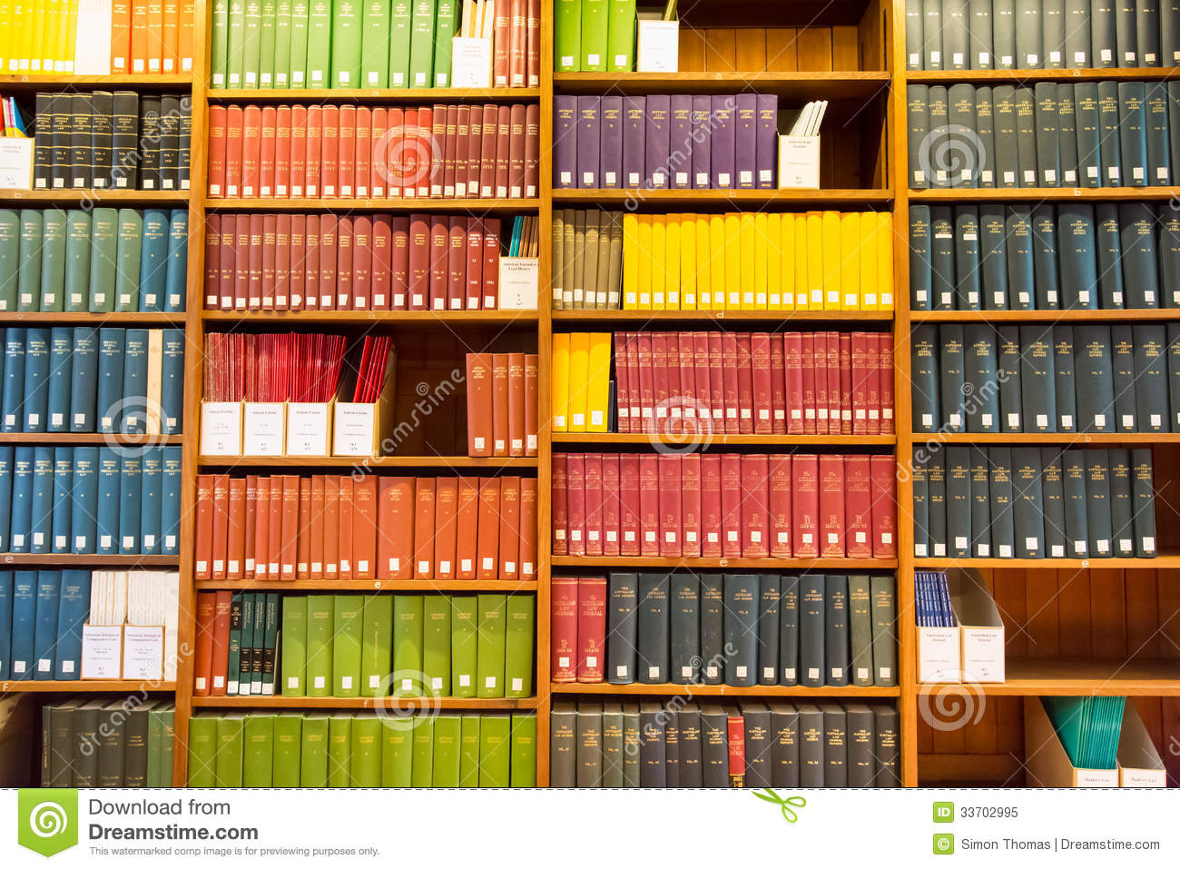 Law Library editorial image. Image of library, colourful