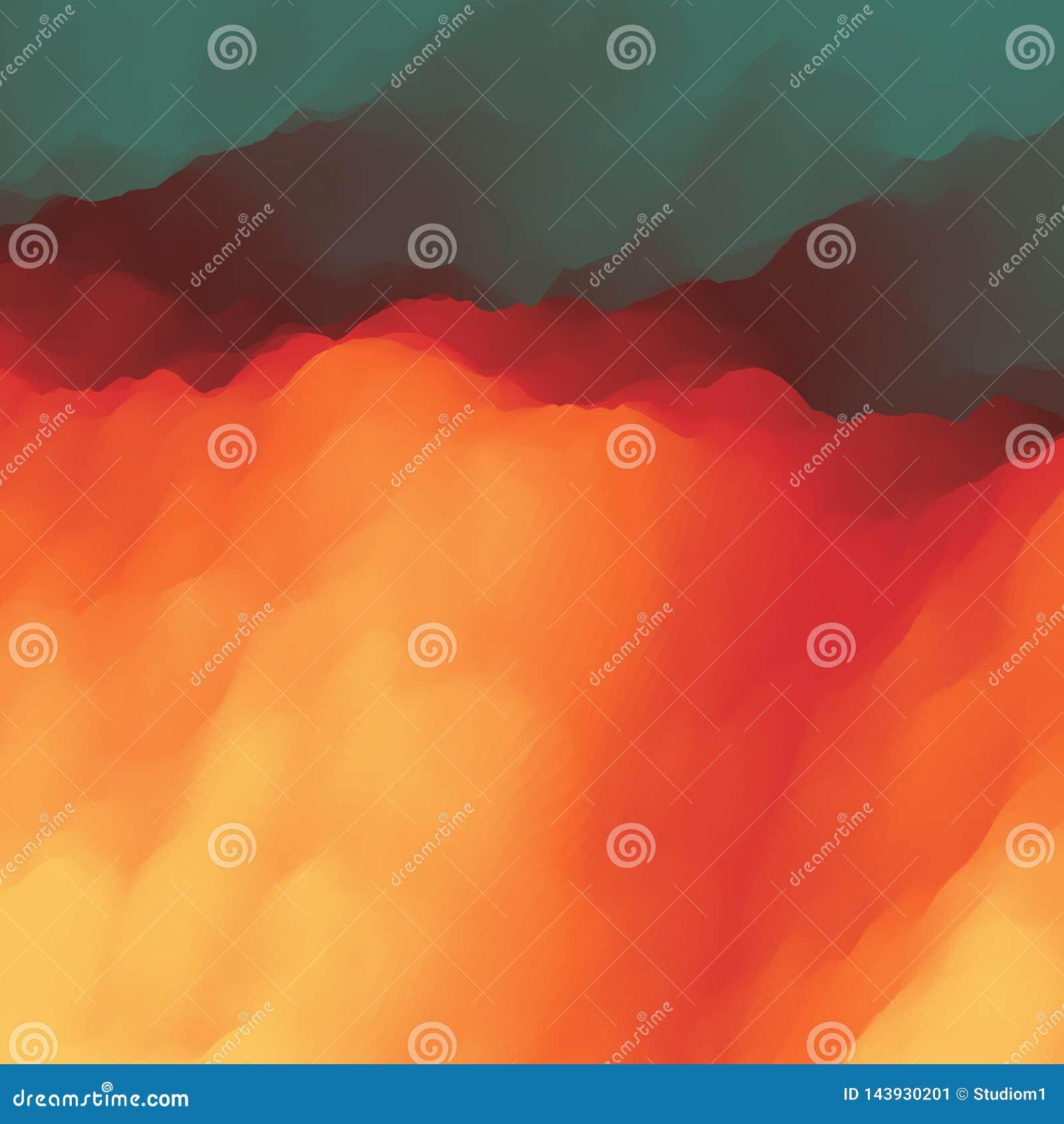 Lawa abstrakcyjny tło Nowożytny wzór również zwrócić corel ilustracji wektora