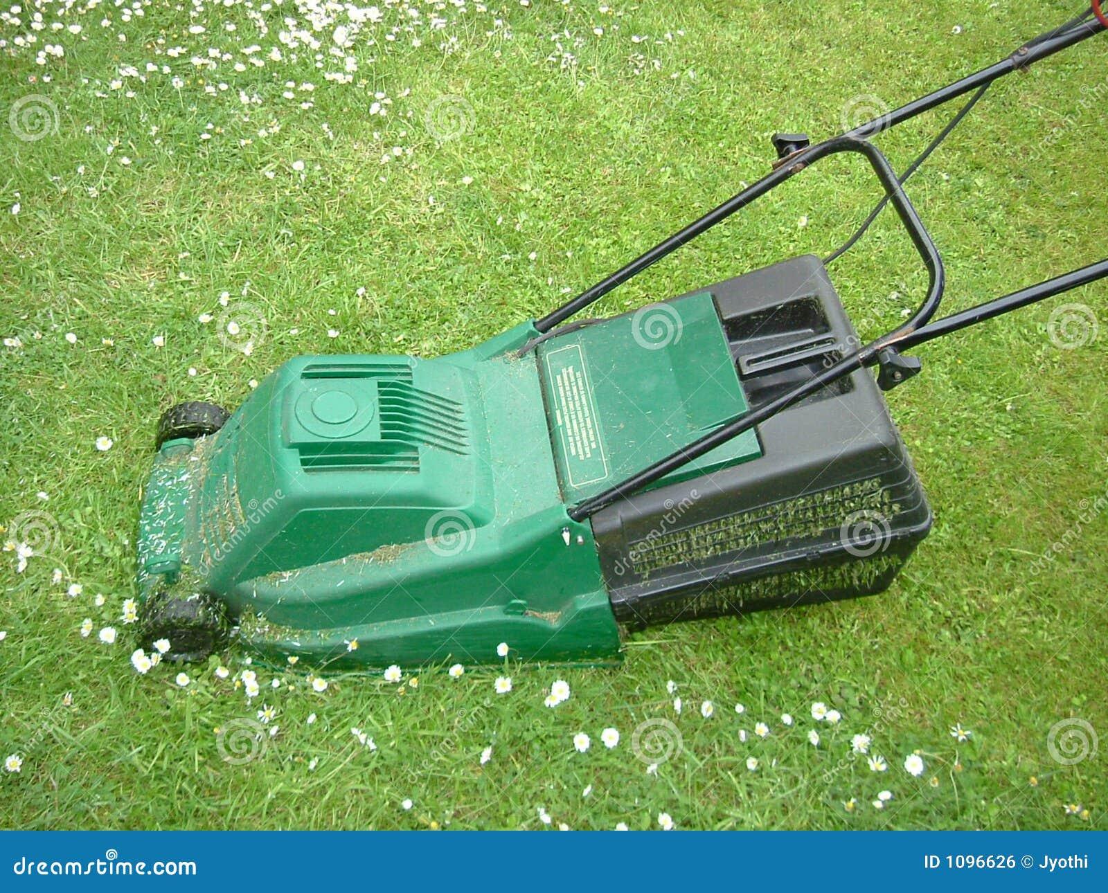 Lawn Mower Seat Trim : Lawn mower stock photo image of trim tool work field