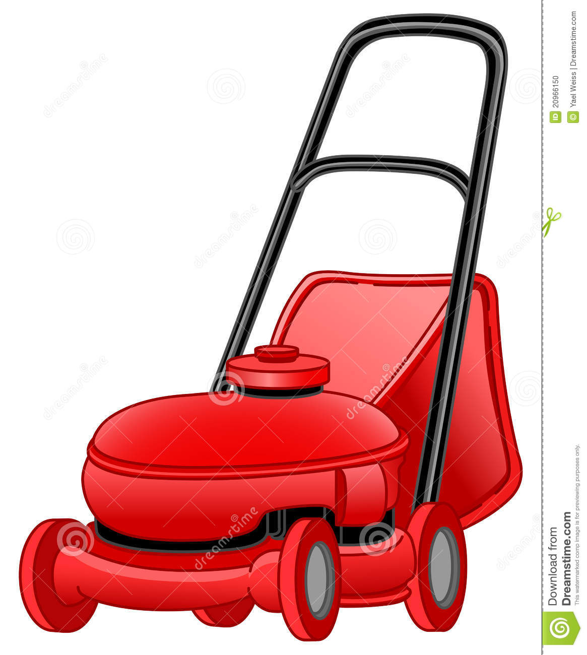 Lawn Mower Stock Photo - Image: 20966150