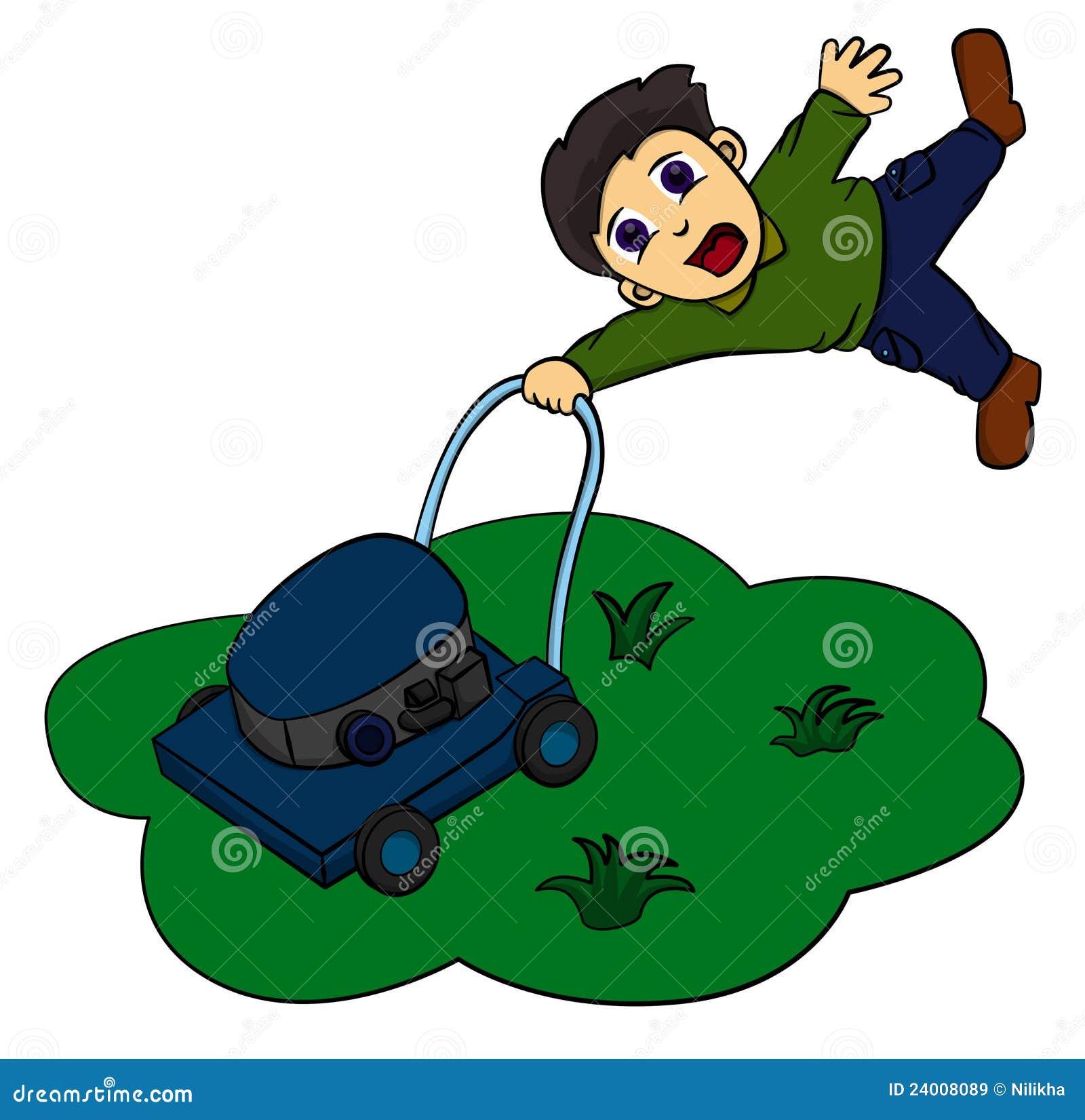 free cartoon lawn mower clipart - photo #29