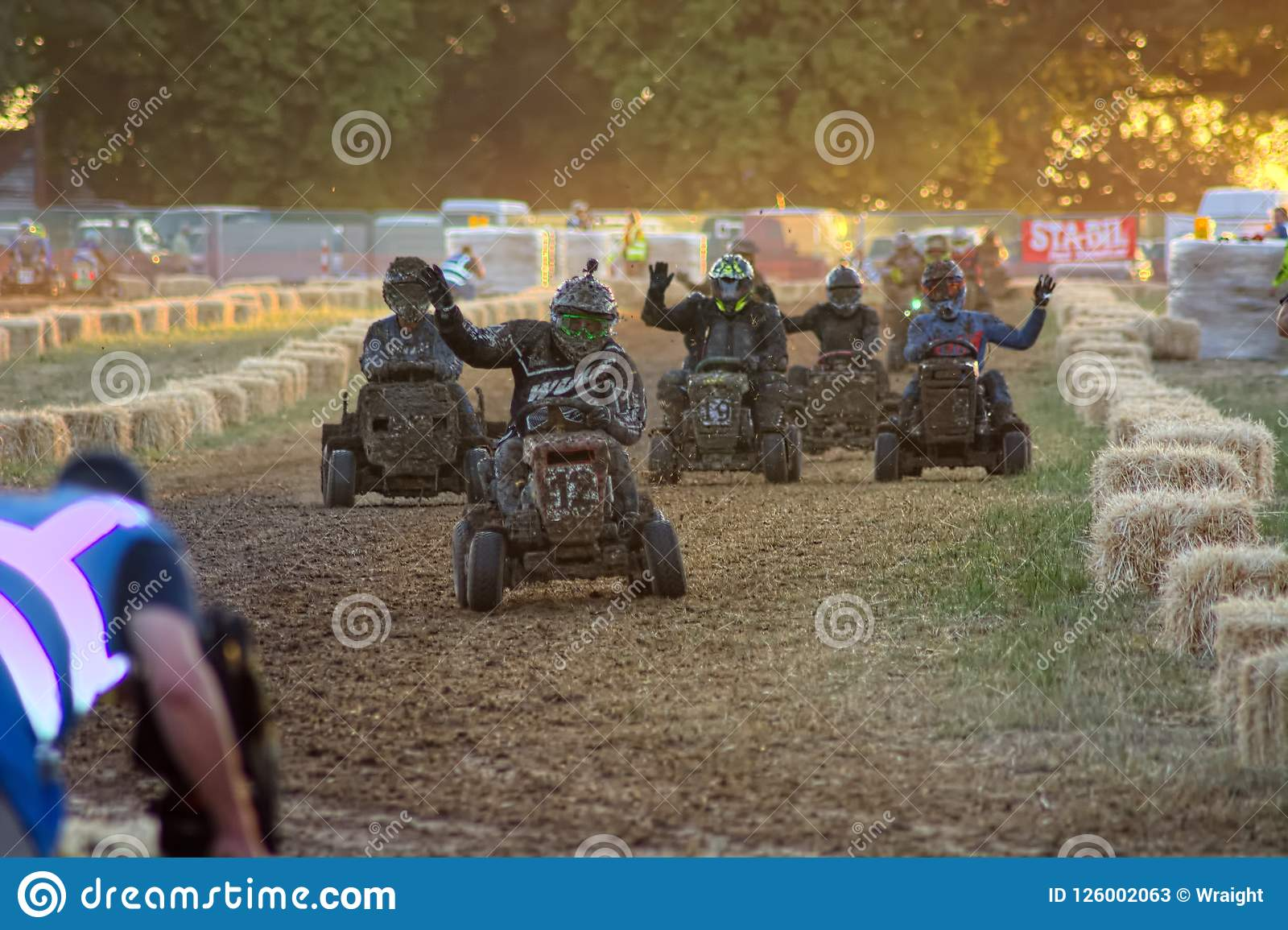 Lawn Mower Racing >> Lawn Mower Racing Editorial Stock Photo Image Of Healthcare