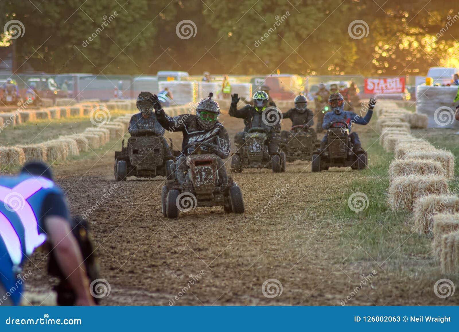 Lawn Mower Racing >> Lawn Mower Racing Editorial Stock Photo Image Of Healthcare