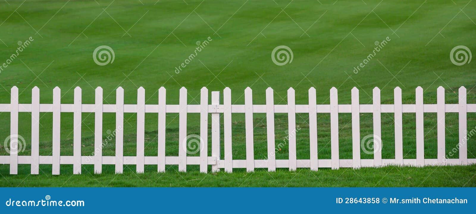 Lawn och staket