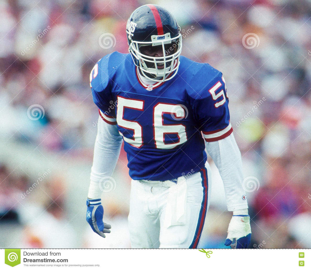 ad10f61df17 New York Giants LB Lawrence Taylor. (Image taken from color slide.)