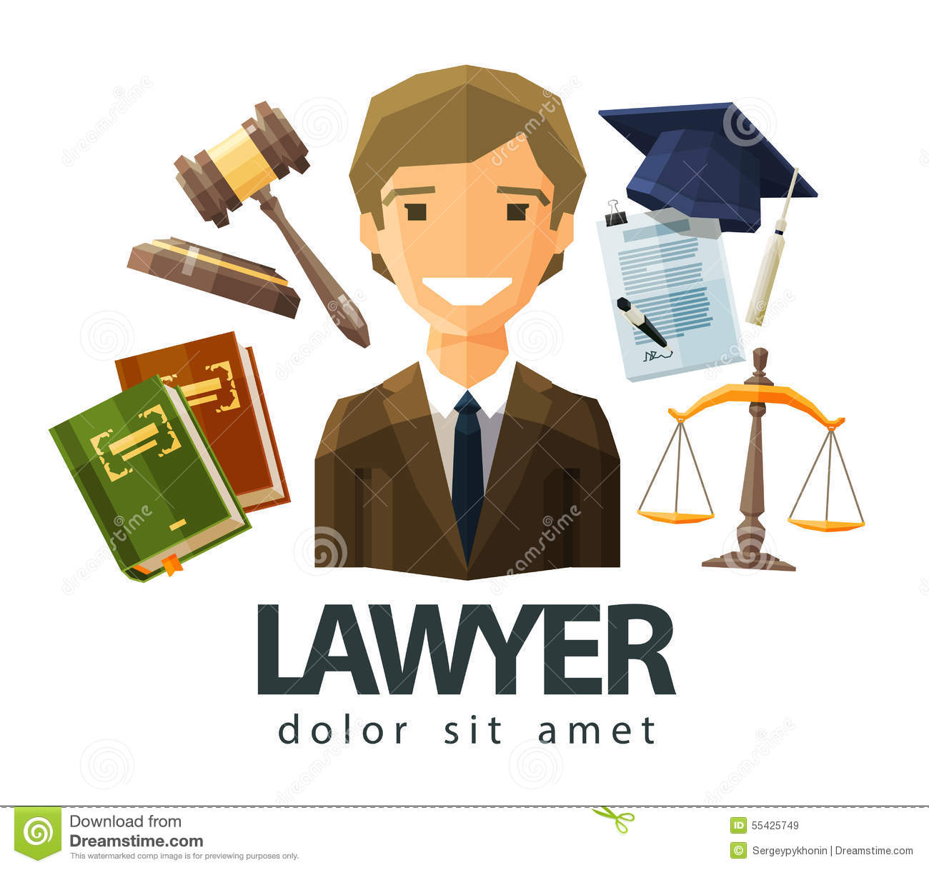 lawyer vector - photo #11