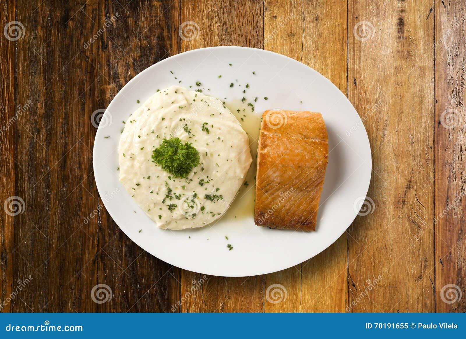 Laxbiff med risottoris