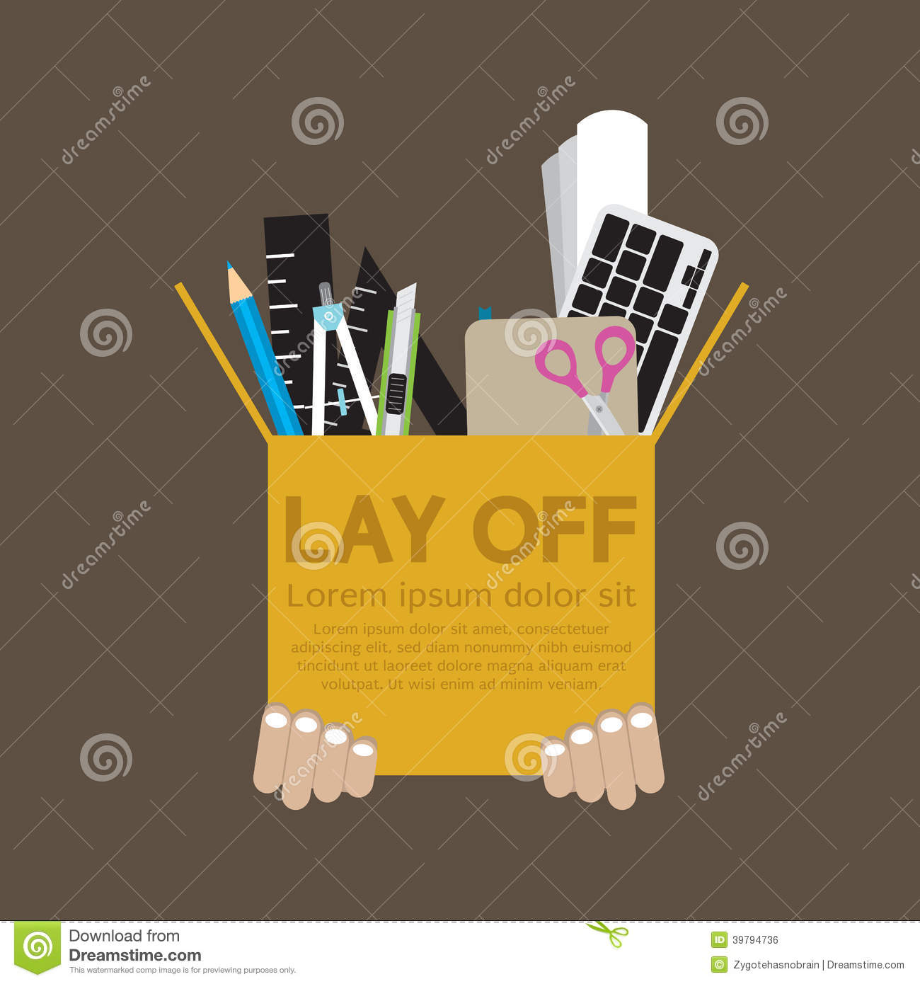 Laid off unvested stock options
