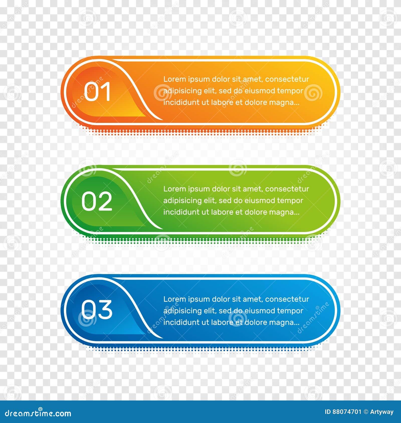 Lay-outwerkschema Overzichts kleurrijk menu voor app interface Aantalopties Webontwerp van knopenelementen Infographics 1