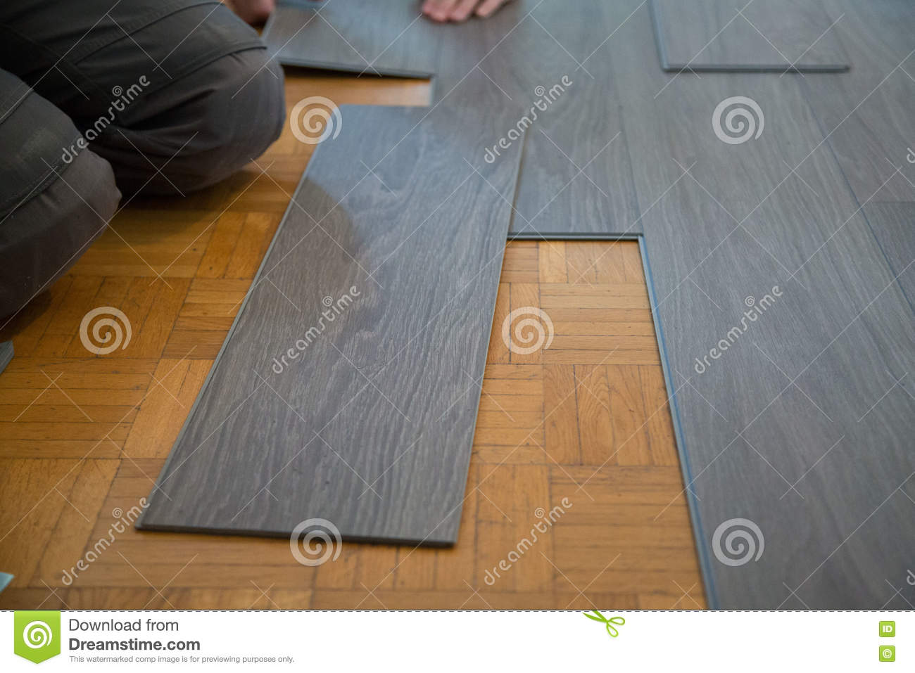 Lay Vinyl Floor On Parquet Floor Stock Image Image Of Surface - What do you need to lay vinyl flooring