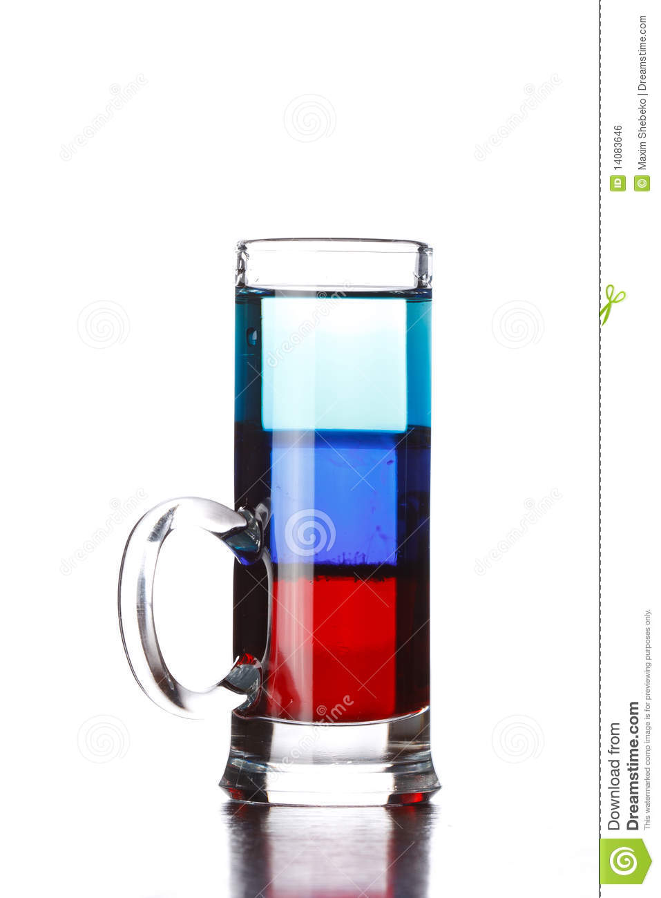 Layered Cocktail Shooter