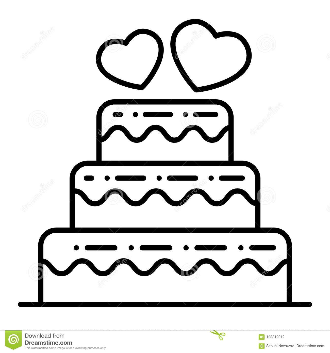 Thumbs Dreamstime Com Z Layered Wedding Cake Thin