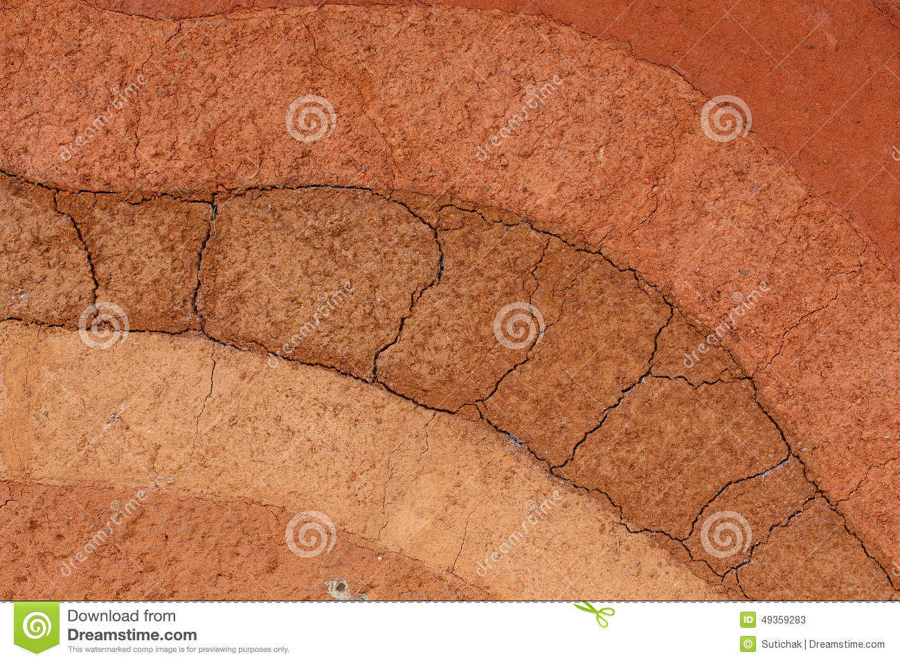 Earth layers vector illustration 27140980 for Earth soil layers