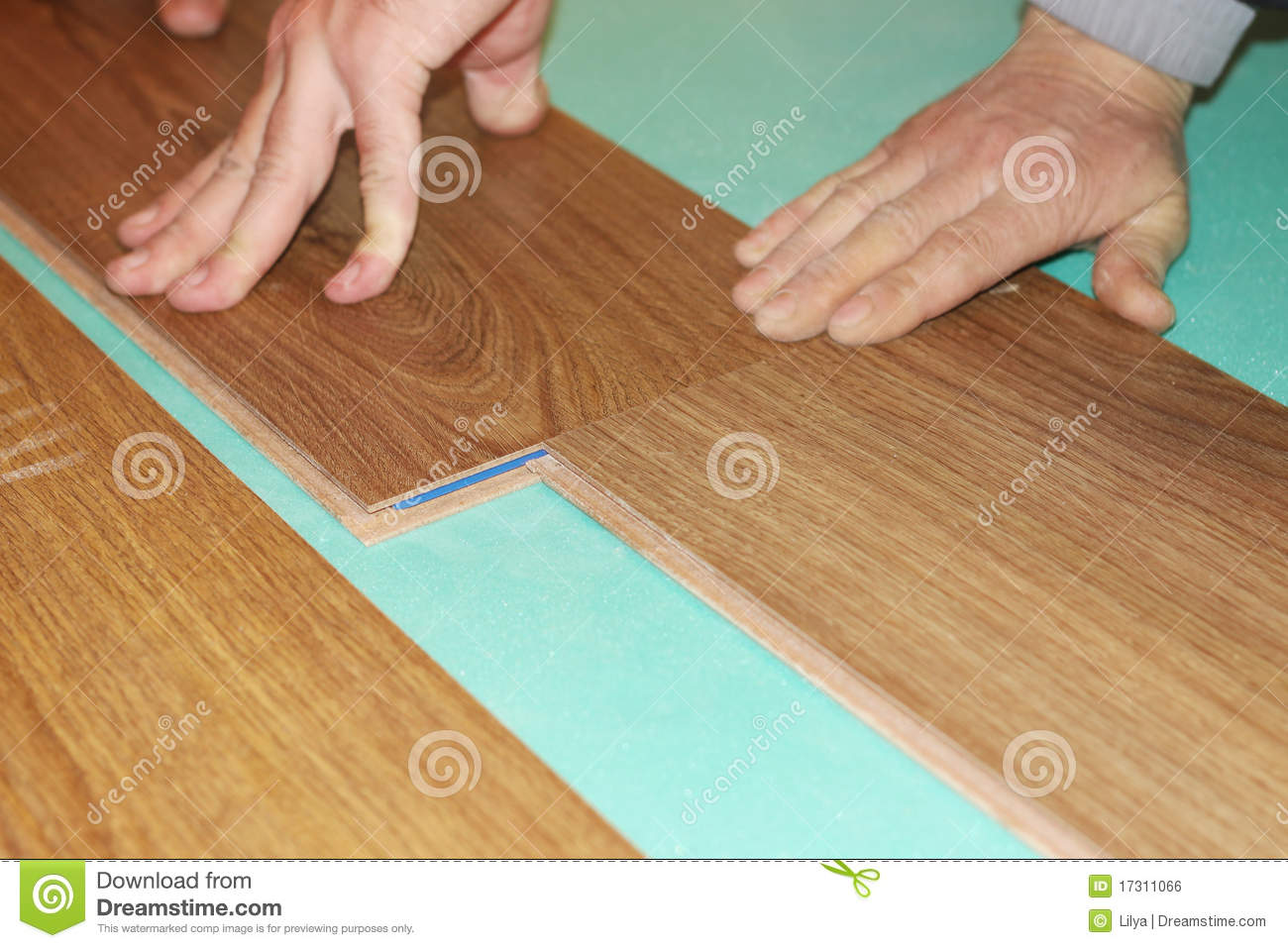 how to cut laminate flooring to minimize waste