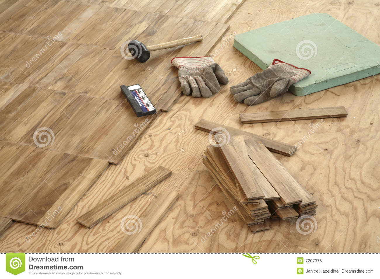 laying wood flooring royalty free stock image image 7207376