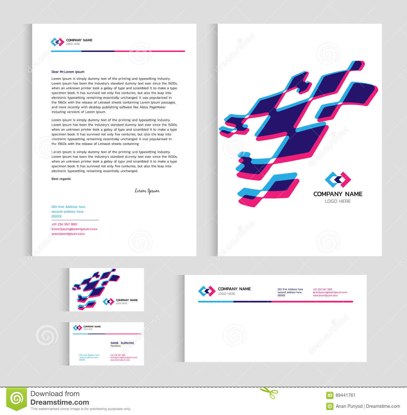 Template Card X In Letter Size on