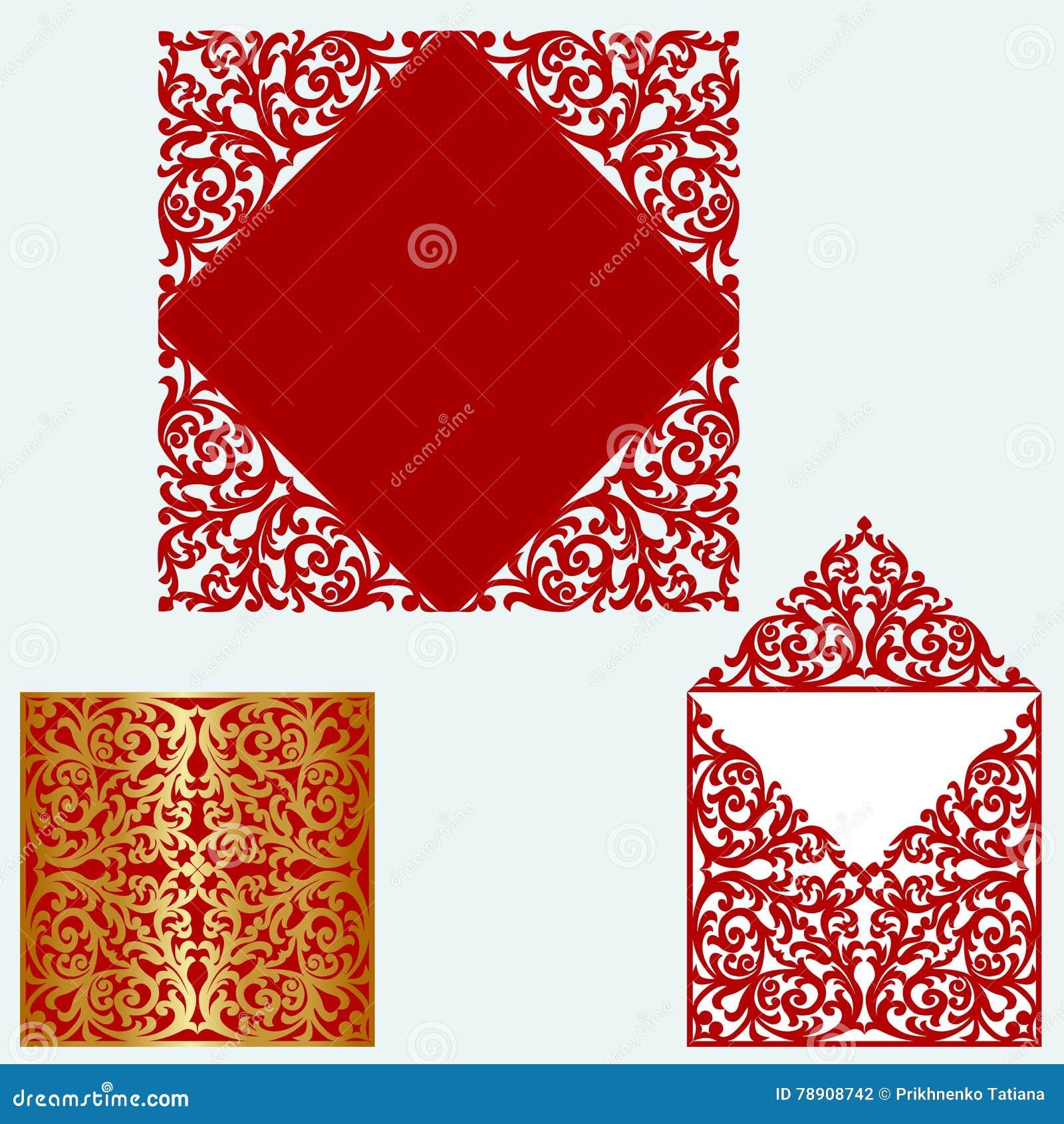 Layout wedding invitation stock vector. Illustration of template ...