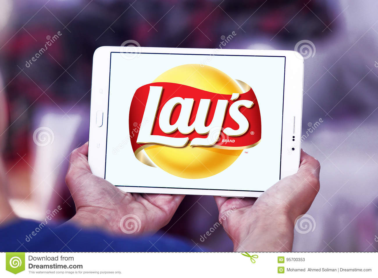 Lays Chips Logo Editorial Stock Photo Image Of Brand 95700353