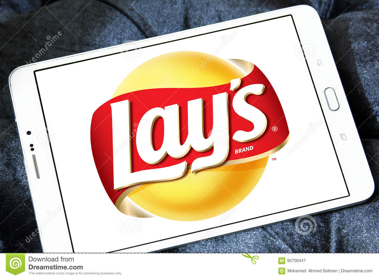 Lays chips logo editorial photography  Image of mobile - 95700447
