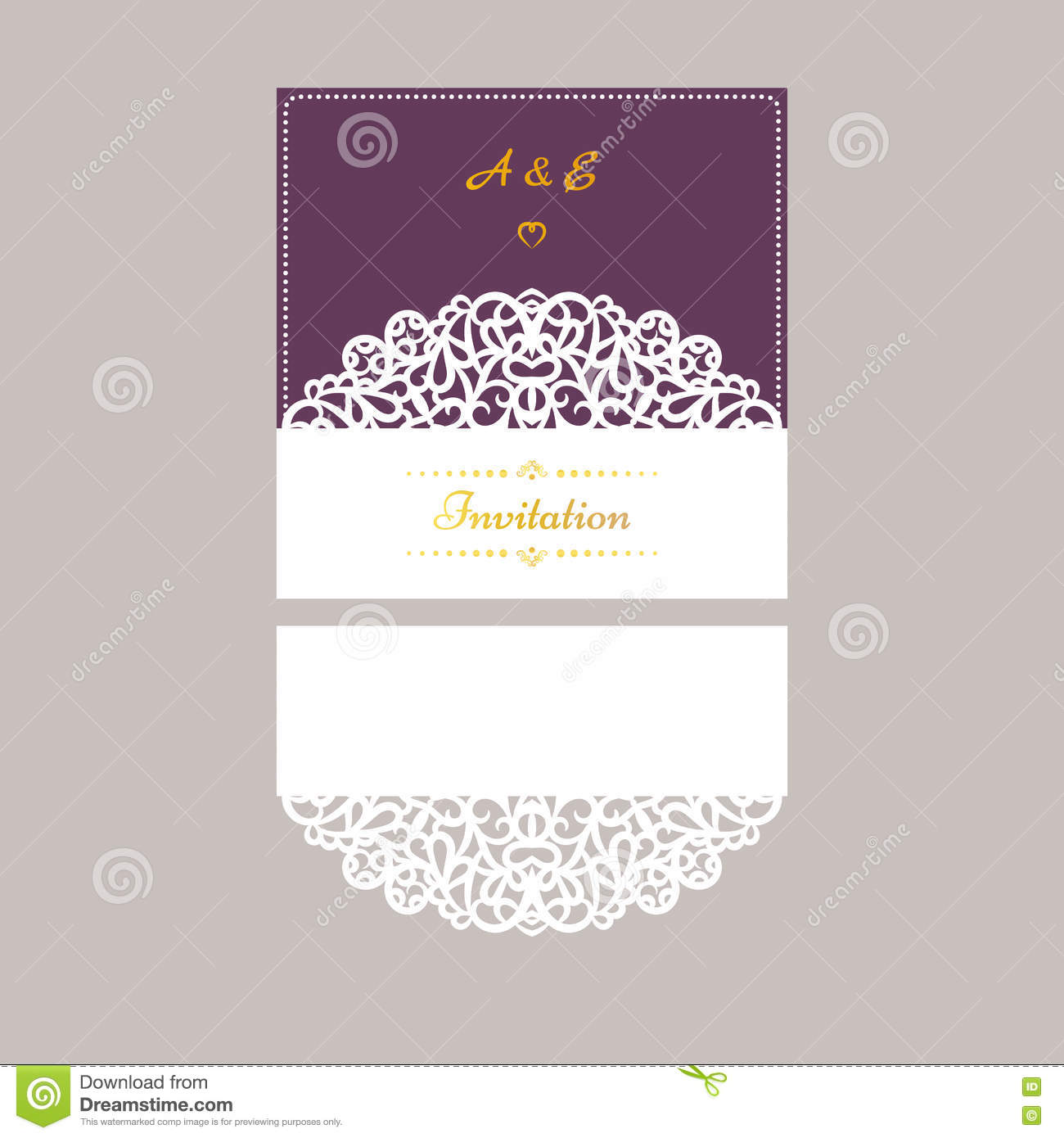 Lazercut vector wedding invitation template wedding invitation download lazercut vector wedding invitation template wedding invitation envelope for laser cutting lace gate stopboris Image collections