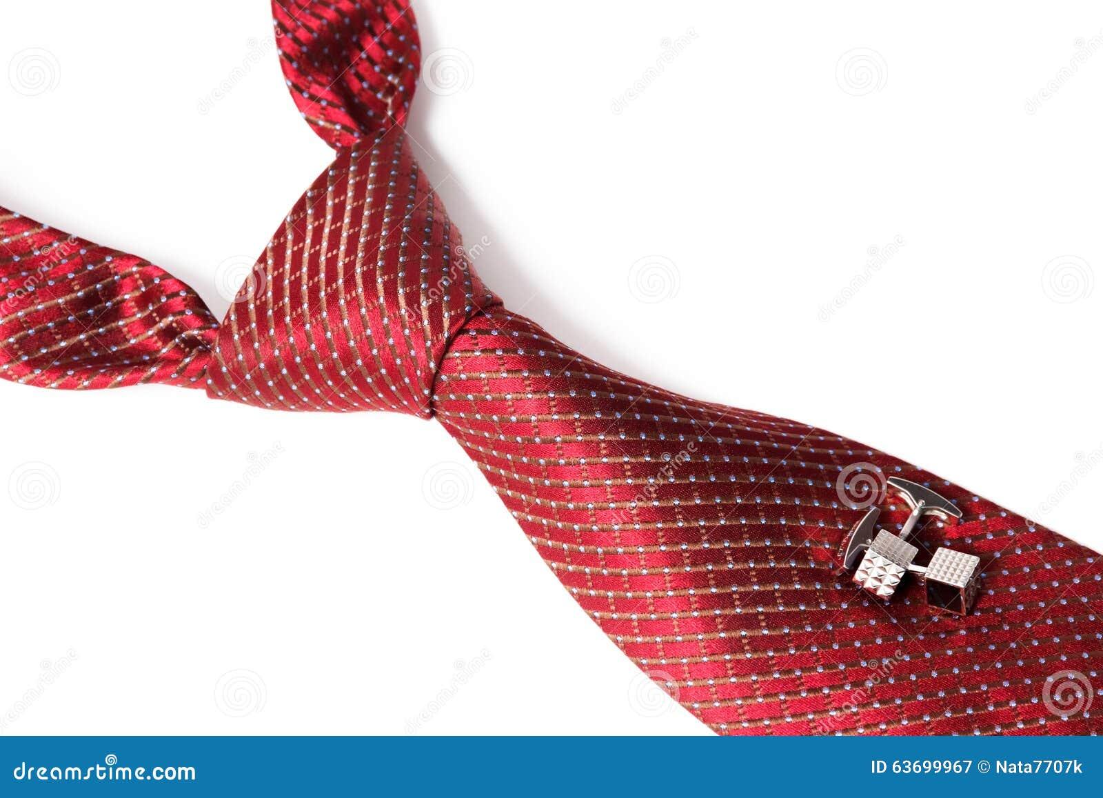 Lazo rojo, anudado el Windsor doble