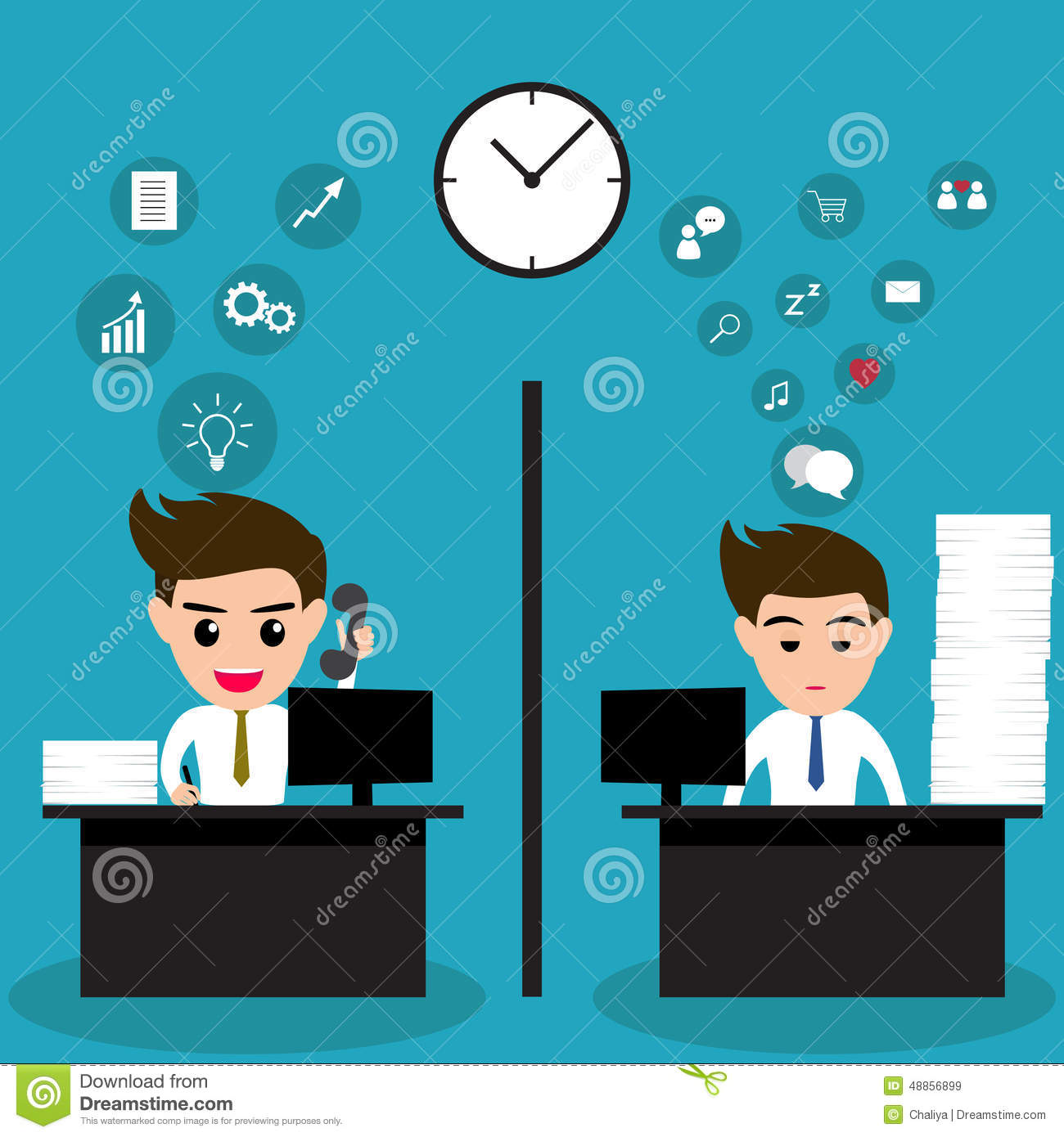 lazy-business-man-active-business-man-same-office-vector-illusttration-48856899.jpg