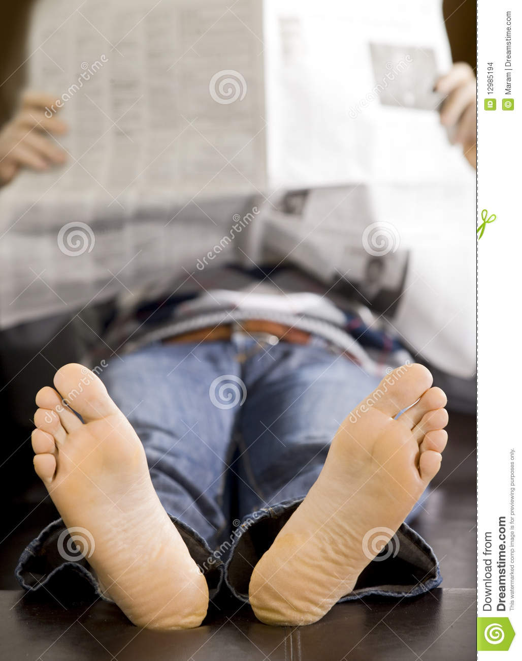 Lazy Man Stock Photo Image Of Funny Comfortable Bedroom