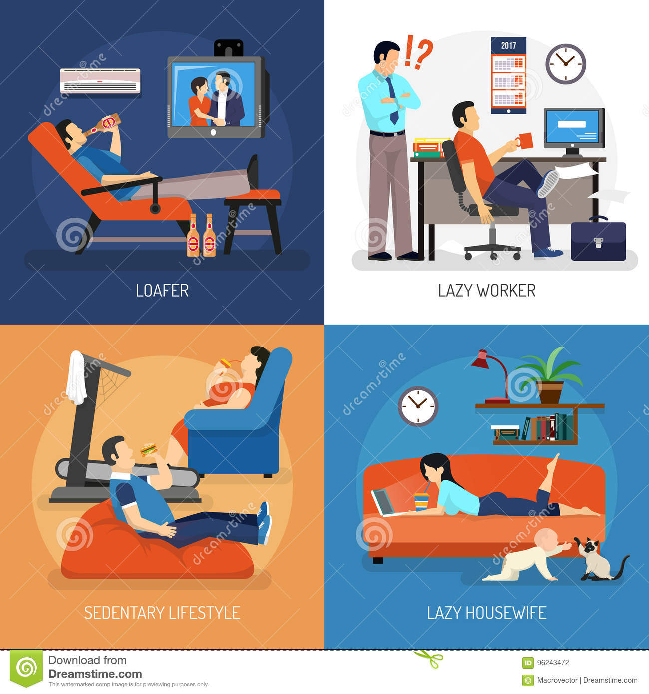 Lazy People Compositions